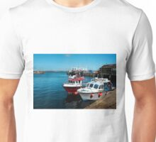 Penzance Fishing Harbour, Cornwall. Unisex T-Shirt