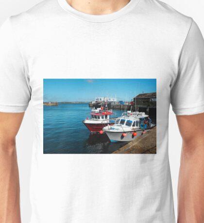 Penzance Fishing Harbour, Cornwall. Unisex T-Shirt