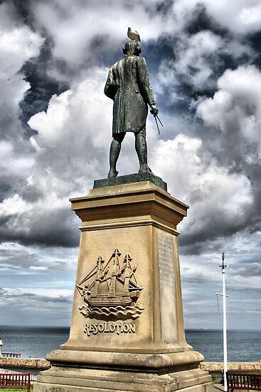 Captain Cook's Monument, Whitby, UK by Nick Barker
