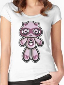 Adorable Mascot Women's Fitted Scoop T-Shirt