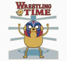 Wrestling time 2 One Piece - Short Sleeve