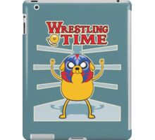 Wrestling time 2 iPad Case/Skin