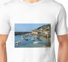 A Peaceful Moment at Mousehole, Cornwall Unisex T-Shirt