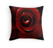 Blood Red.. Throw Pillow
