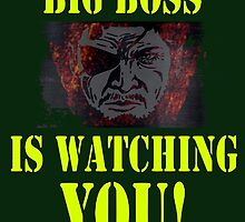 BIG BOSS IS WATCHING YOU by megtalgearsalad