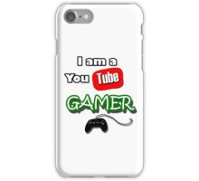 I am a YouTube GAMER iPhone Case/Skin