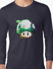 Watercolor 1-Up Mushroom Long Sleeve T-Shirt