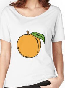 Peach Women's Relaxed Fit T-Shirt