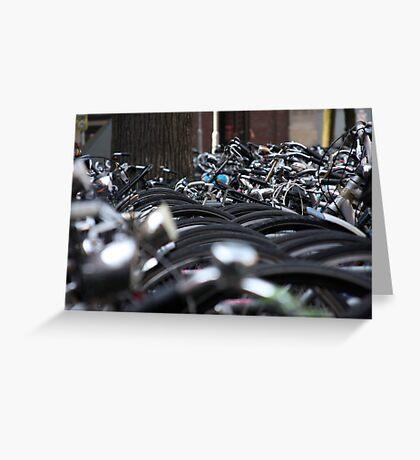 Bikes of Amsterdam Greeting Card