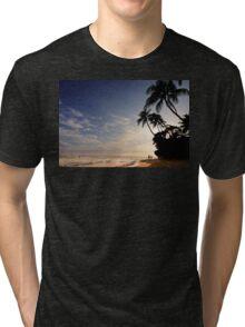 5:38 PM Hawaii Time Tri-blend T-Shirt