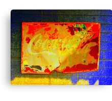 Coke # 2  Canvas Print
