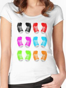 High Tops Women's Fitted Scoop T-Shirt