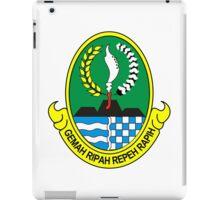 Seal of West Java  iPad Case/Skin