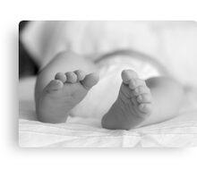 precious toes Canvas Print