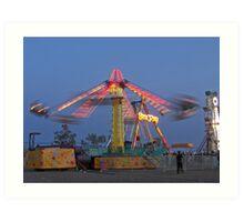 Desert Carnival Art Print
