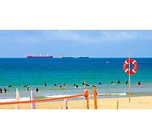 carcavelos, surfers paradise.the beach was stunning today:) Photographic Print