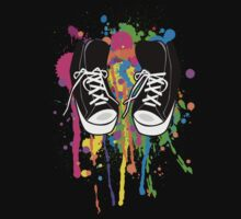 My High Top Sneakers by Octavio Velazquez