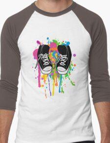 My High Top Sneakers Men's Baseball ¾ T-Shirt