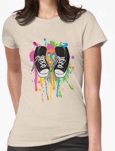 My High Top Sneakers Womens Fitted T-Shirt