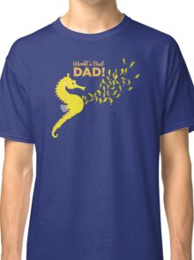 Family: Seahorse - World's Best Dad Classic T-Shirt