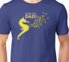 Family: Seahorse - World's Best Dad Unisex T-Shirt