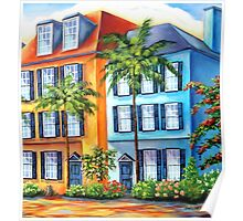 Colorful Houses Poster