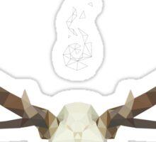 White Stag Sticker