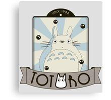 Vintage Totoro Canvas Print
