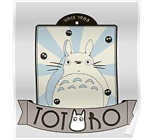Vintage Totoro Poster