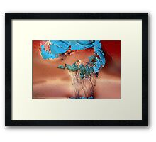 The Sky is Falling Framed Print