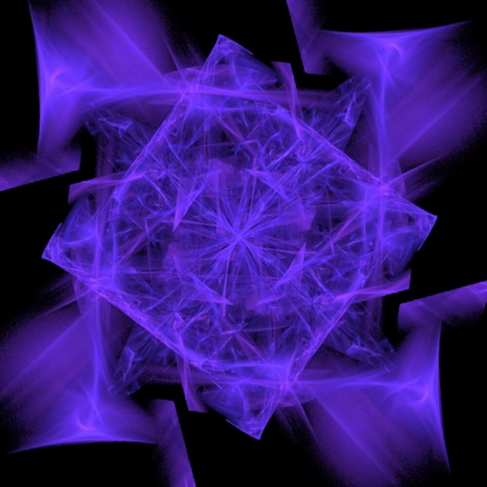 Facets in Purple by Dana Roper