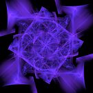 Facets in Purple by Dana Roper