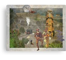Theatre Of The Absurd #6 Canvas Print
