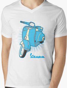 Vespa Mens V-Neck T-Shirt
