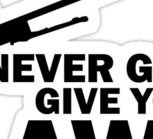 Never Gonna Give you AWP Sticker
