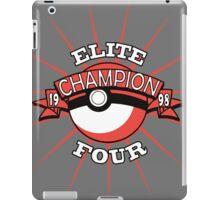 Elite Four Champion Red iPad Case/Skin