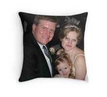 1st day as the Williams Family Throw Pillow