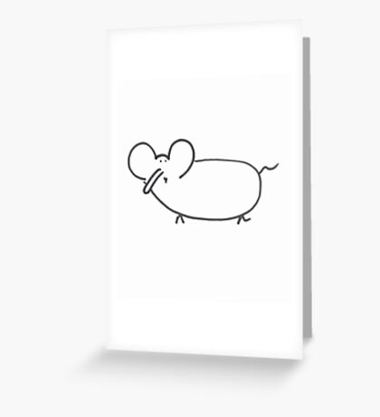 Lemmephant Greeting Card
