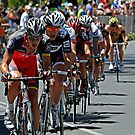Team Radio Shack setting the pace - Tour Down Under 2010 Stage 6 by DavidIori