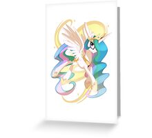 Princess Celestia Greeting Card