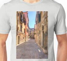 An Alleyway in Venice Unisex T-Shirt