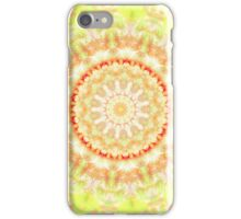 Sun Fire Mandala  iPhone Case/Skin