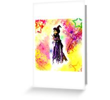 Rags to Witches Greeting Card