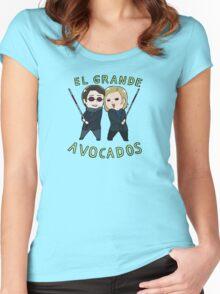 Tiny MattFoggy 01 Women's Fitted Scoop T-Shirt