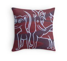 """""""I Think It's Over There"""" (Daily Biscuit #16) Throw Pillow"""