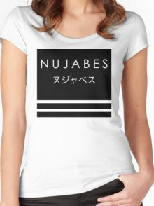 Nujabes Tribute Black Women's Fitted Scoop T-Shirt