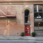 Red door-Gastown, Vancouver by andrewm