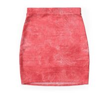 Cayenne Oil Painting Color Accent Pencil Skirt