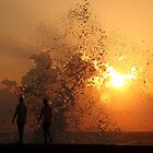 Sunset Through the Splash (Havana) by BGpix