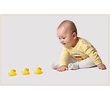 Quack Quack Quack!!! Photographic Print